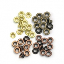 We R Memory Keepers standard eyelets x48 copper warm metal