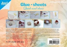 Joy! glue-sheets A4 (4 vel)