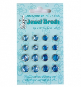 Jewel Brads Dark blue/Light blue