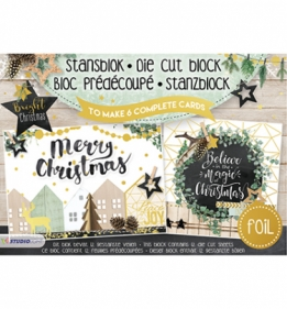 Stansblok Die Cut Folie, Bright Christmas nr.15