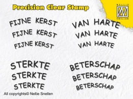 APST002 - Precision clear stamps Dutch Texts-2