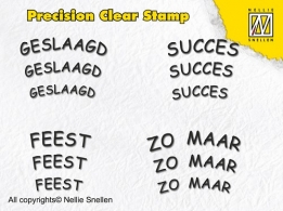 APST004 - Precision clear stamps Dutch Texts-4