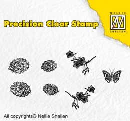 APST015 - Precision clear stamps Nature dandelion