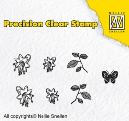 APST024 - Precision clear stamps Nature bellflower