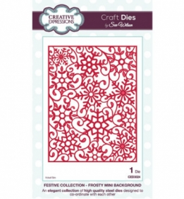 CED3024 Craft Dies Frosty Mini Background