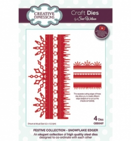 CED3107 Craft Dies Snowflake Edger