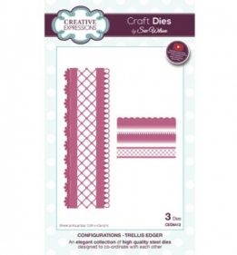 CED6412 Craft Dies Trellis Edger