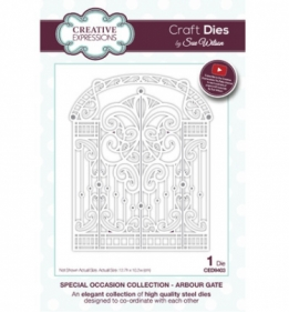 CED9403 Craft Dies Arbour Gate