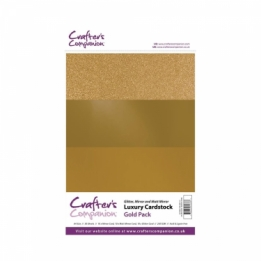 Luxury Cardstock Pack - Gold (A4)