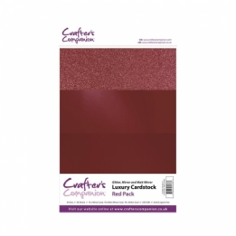Luxury Cardstock Pack - Red(A4)
