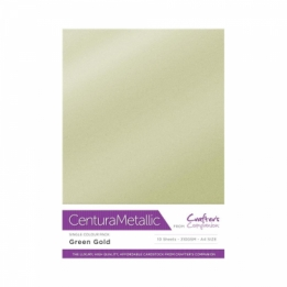 Centura Metallic enkelzijdig  - Green Gold