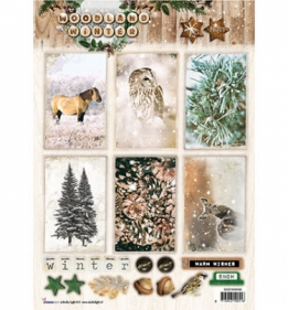 A4 Stansvel Woodland Winter nr.580