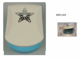 EPL003 - Embossing punch medium- star (PAKKETPOST)