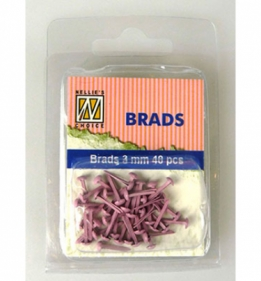 Splitpen/brads 3 mm pink