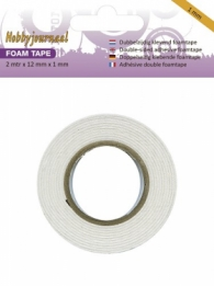 Foam Tape 12 mm - 0.5 mm dik (HJ)