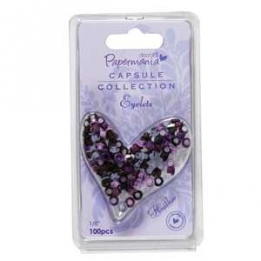Eyelets rond Heather 5 mm