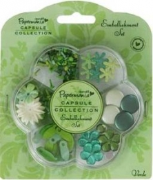 Embellishment Set Verde
