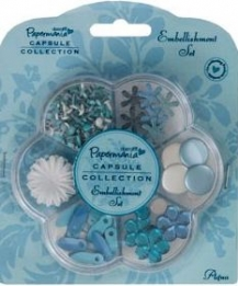 Embellishment Set Aqua
