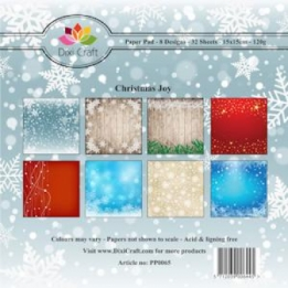 Dixi Paper Pack 15x15 cm Christmas Joy