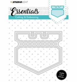 Embossing Die Cut Stencil Essentials nr.121