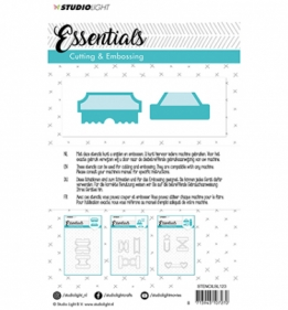 Embossing Die Cut Stencil Essentials nr.125