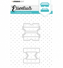 Embossing Die Cut Stencil Essentials nr.123