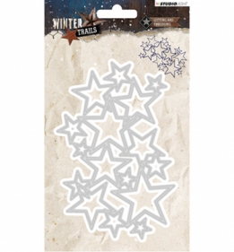 Cutting and Embossing Die Winter Trails, nr.104