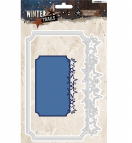 Cutting and Embossing Die Winter Trails, nr.108