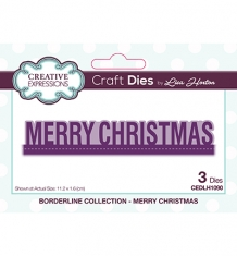 CEDLH1090 - Die Borderline Merry Christmas