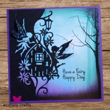 CEDPC1078 - Craft Die Fairy Door