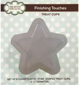 Set of 6 Star Treat Cups