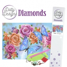 Dotty Designs Diamonds - Butterflies (PAKKETPOST)