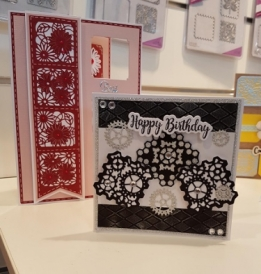 Gemini Create-a-Card - Cogs Patchwork