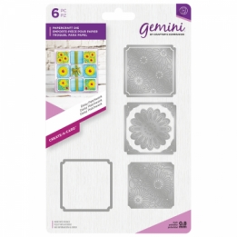 Gemini Create-a-Card - Daisy Patchwork