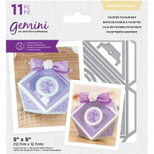 Gemini Faceted Favour Box Dimensionals Dies