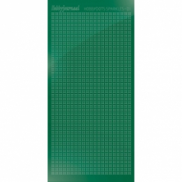 HSPM012 - 01 Hobbydots sticker Sparkles 01 - Mirror Green