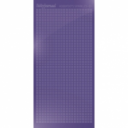 HSPM019 - 01 Hobbydots sticker Sparkles 01 - Mirror Purple