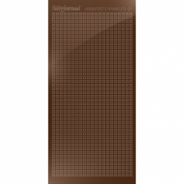 HSPM01G - 01 Hobbydots sticker Sparkles 01 - Mirror Brown
