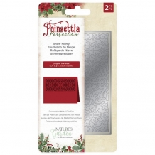 Poinsettia Perfection - Metal Die - Snow