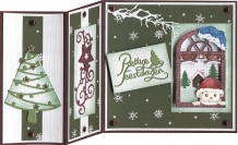 PMCS10041 Clear Stamp - PM - Warm Christmas Feelings