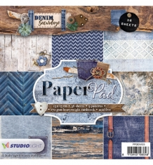 Paper Pad, Denim Saturdays nr.103