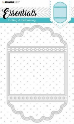 Embossing Die Cut Stencil Essentials nr. 115