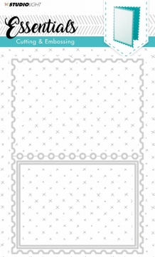 Embossing Die Cut Stencil Essentials nr.167