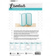 Embossing Die Cut Stencil Essentials nr.170