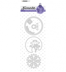 STENCILSL207 - Layered Cutting Die Favourites nr. 207