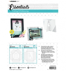 STENCILSL209 - Embossing Big Frame Dies Essentials nr.209
