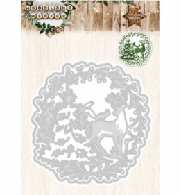 Snij- en embossing mal - Woodland winter - 37