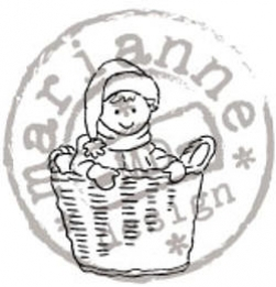 TC0828 Tiny's Clear Stamp Basket
